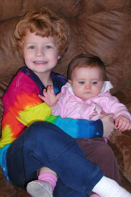 Callan loves his cousin Molly.