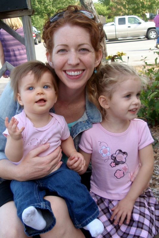 Mommy with her beautiful girls!