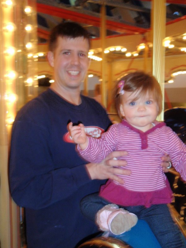 Blurry; but the only one where Charlotte wasn't crying :)