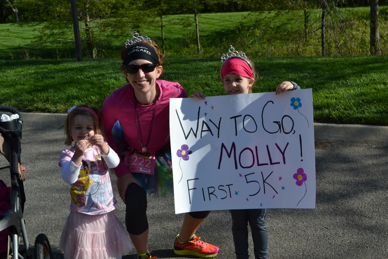 Way to go, Molly!