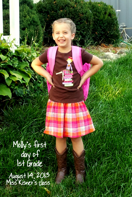 First day of the 1st Grade!!