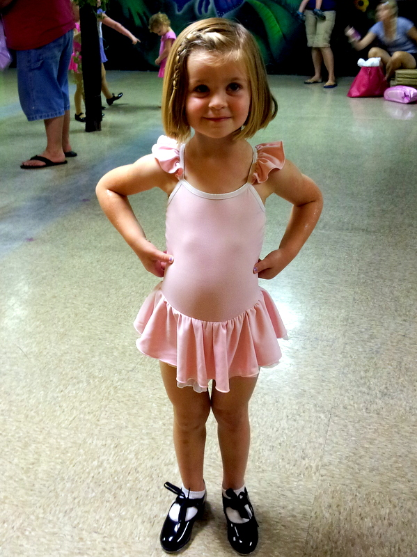 First Day of Dance for Charlotte!