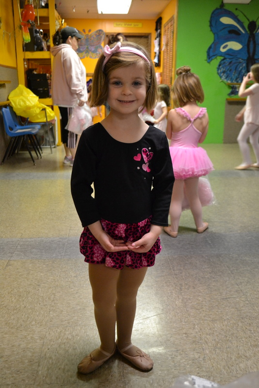Our adorable little dancer!